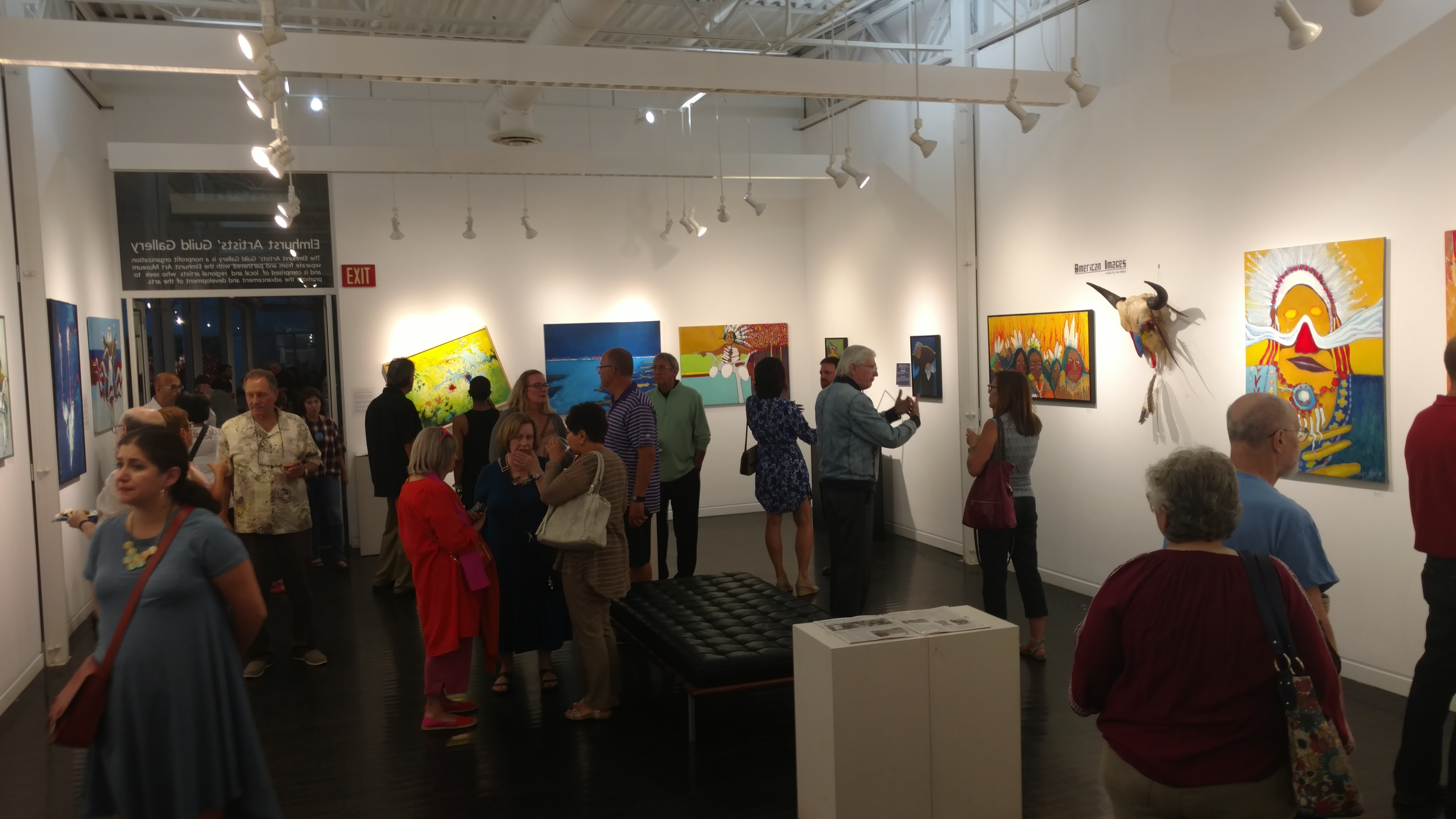 Wes Baker EAG solo show Aug 2017